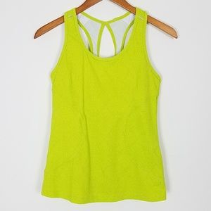 Athleta Workout Tank Lime Green S